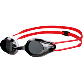 arena Tracks Goggles Kinder smoke-white-red